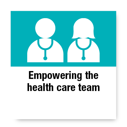 Empowering the Health Care Team